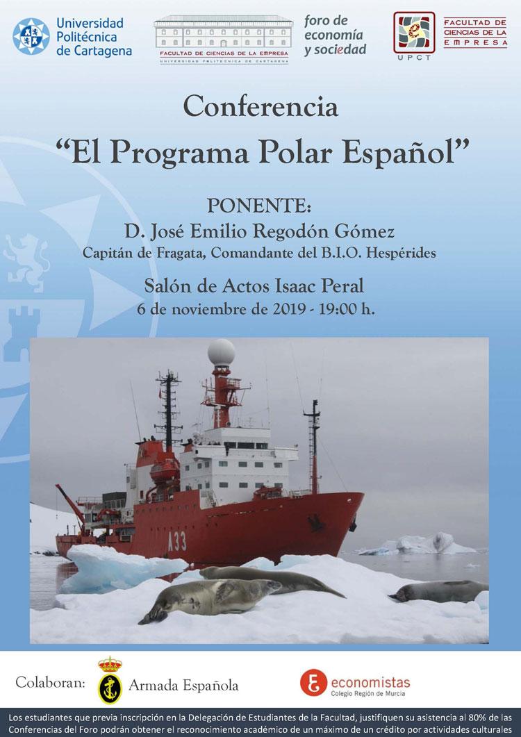 """Conferencia """"El Programa Polar Español"""""""